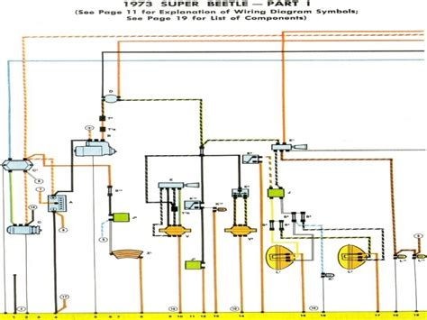 1973 beetle wiring diagram thegoldenbug wiring forums