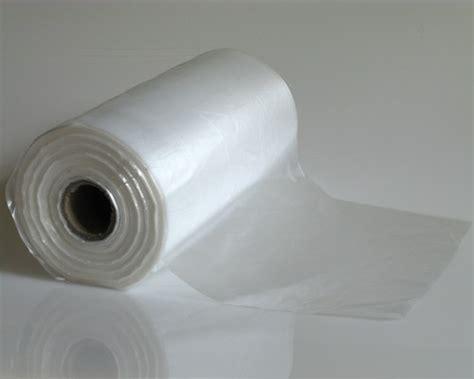White Roll Bag 300mm 215 450mm 10um clear plastic bag rolls wholesale