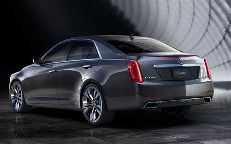 Cadillac Cts 2014 by 2014 Cadillac Cts Rear Left View Photo 2