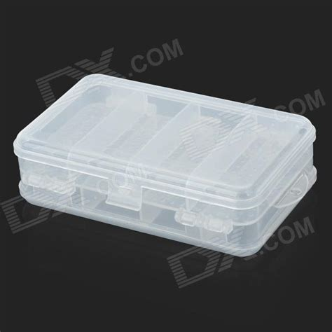 Plastic Medicine Box 10 compartment dual layer plastic medicine box