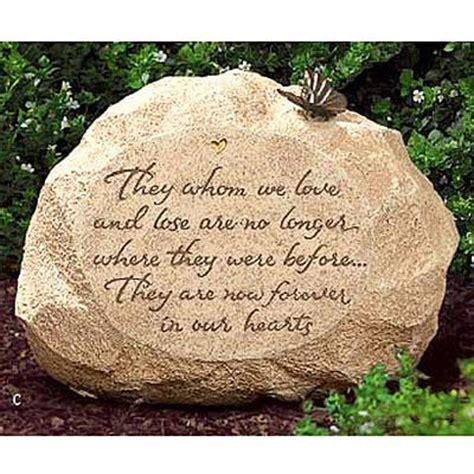 garden memory stone