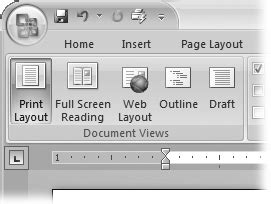 reading layout word 2007 4 setting up the document margins page breaks and more