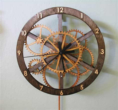 wood clock starchar clock plans the wooden clock