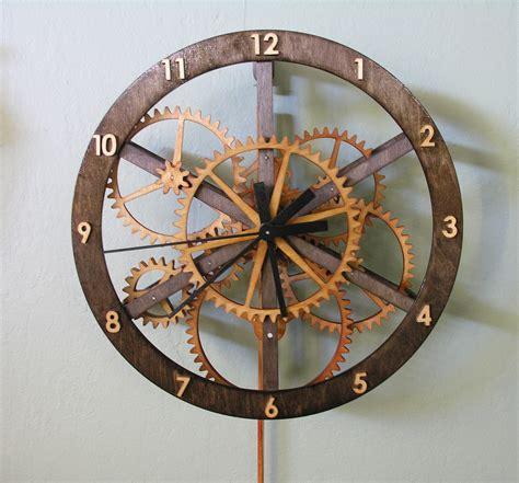 wood clock plans dezignito