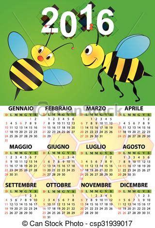 len italien calendrier 2016 abeille italien papillon langue