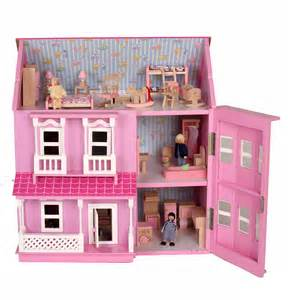 brand new pink doll houses dolls house with 6