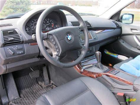 2005 Bmw X5 Interior by Black Interior 2005 Bmw X5 3 0i Photo 40886165 Gtcarlot