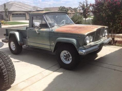 jeep truck for sale 1963 jeep willys kaiser j200 4x4 truck for sale 4x4 cars