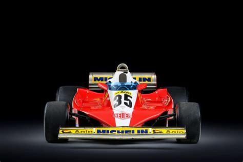 car one ferrari 312t3 formula one car