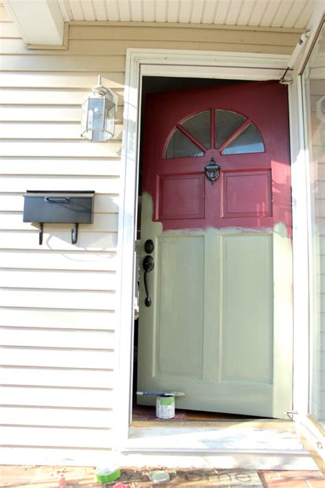 how to paint a front door without removing it paint the front door