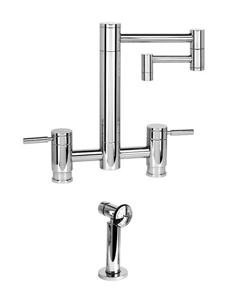 Articulated Faucet by Waterstone Faucets Hunley Bridge Faucet 12 Quot Articulated
