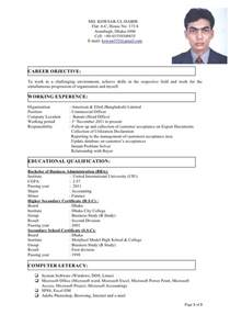Cover Letter Format Bd Cv With Photo
