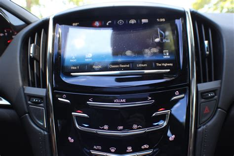 radio inside cadillac this 2016 cadillac ats v lease is a steal gm authority