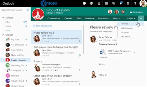 Office 365 Outlook Groups Introducing Guest Access For Office 365 Groups Office Blogs