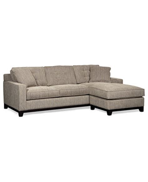 clarke fabric 2 sectional sleeper sofa bed