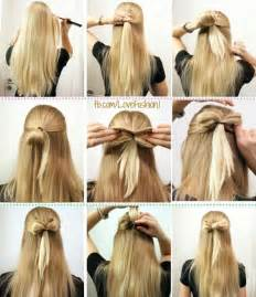 how to give myself the best hairstyle with a widows peak for 16 ways to make an adorable bow hairstyle pretty designs
