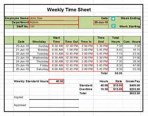 excel timesheet templates timesheet templates excel 1 2 4 week versions tool store