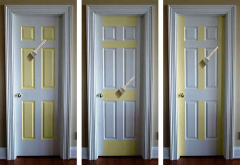 pop of color how to paint a door burger