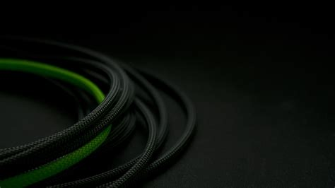 green wire among black wallpapers and images wallpapers