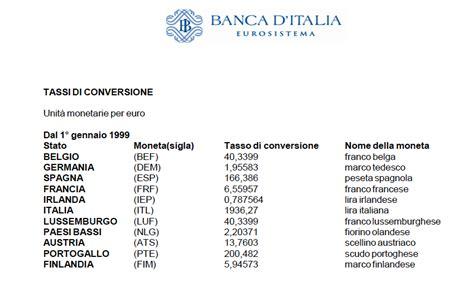 cambio lira d italia la bufala cambio marco ha svantaggiato la