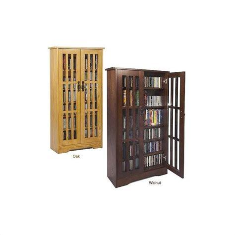 Oak Cd Storage Cabinet Leslie Dame 48 Cd Dvd Wall Rack Media Storage Cabinet Oak Ebay