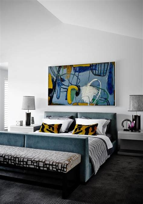 Modern Bedroom Prints Tips For Modern Bedroom Decorating With Paintings And Prints