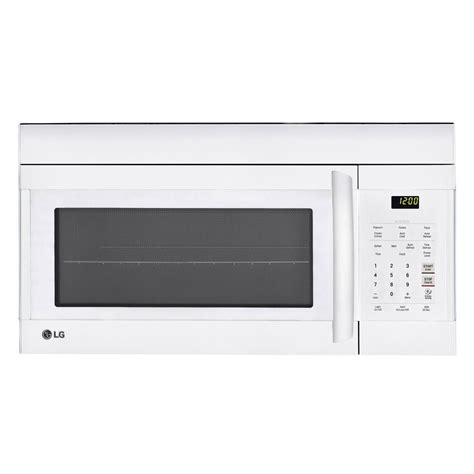 Appliance Paint For Microwave Interior by Lg Electronics 1 7 Cu Ft The Range Microwave Oven