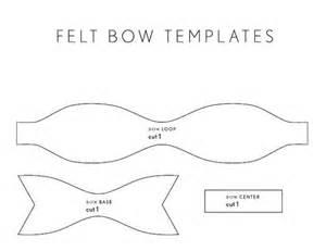 felt bow template felt bow pattern 75 diy and handmade