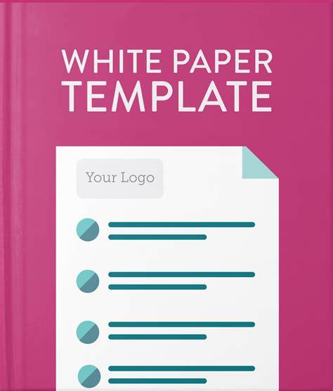 White Paper Template Hatchbuck White Paper Design Template