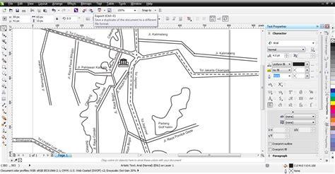 membuat denah lokasi undangan dengan corel draw seorang anggun membuat peta lokasi dengan bantuan google