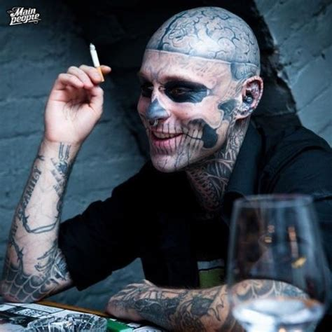 zombie boy tattoo rick genest quot boy quot is it that i his