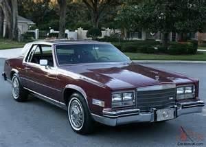 1985 Cadillac Eldorado Biarritz Gorgeous Pristine Luxury Survivor 1985 Cadillac Eldorado