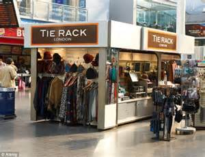 The Rack Store by Tie Rack To Vanish From High Repeated Losses Means