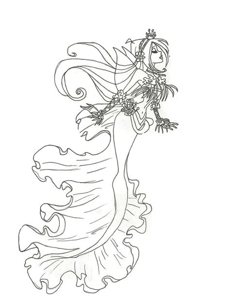 mermaids grayscale coloring book coloring books for adults books winx mermaid coloring pages to print and for