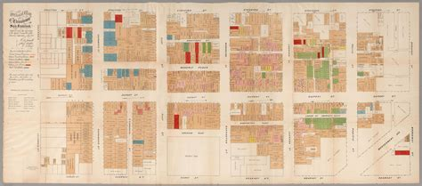 san francisco map of chinatown maps of gilded age san francisco chicago and new york
