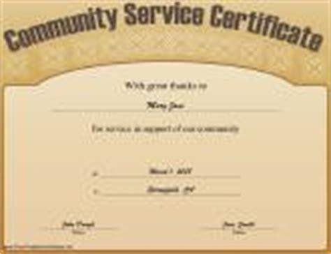 Volunteer Certificates Free Printable Certificates Community Service Certificate Template Free