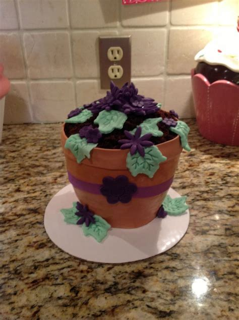 Sweet In Pot Bouquet 17 best images about cupcake bouquets on
