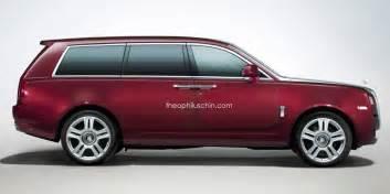 Rolls Royce Suv Concept Rolls Royce Suv Renderings