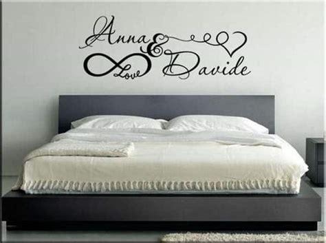 murales da letto adesivi murali personalizzati da letto