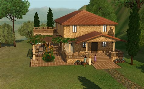 summer s sims 3 garden monte vista list of houses