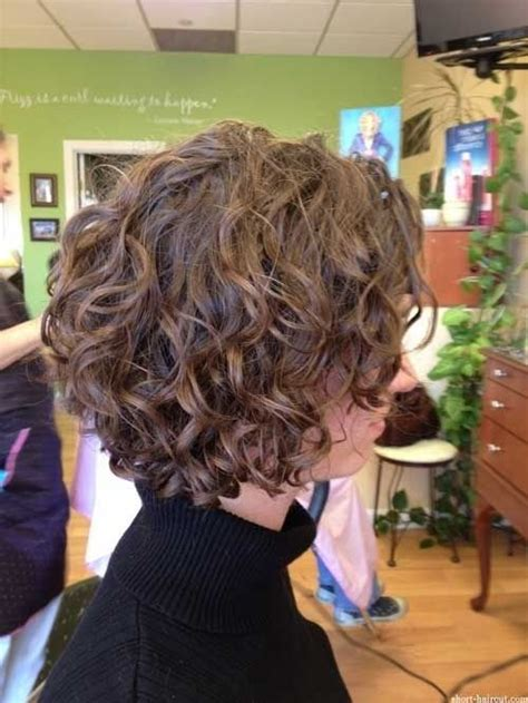 a perm that doesnt look like a perm for short hair 17 best ideas about curly bob on pinterest curly short