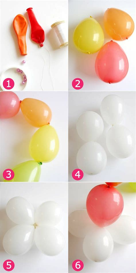 Arc En Ciel Decor by Diy D 233 Cor Facile Balloons Arc En Ciel En 2018 Anniv