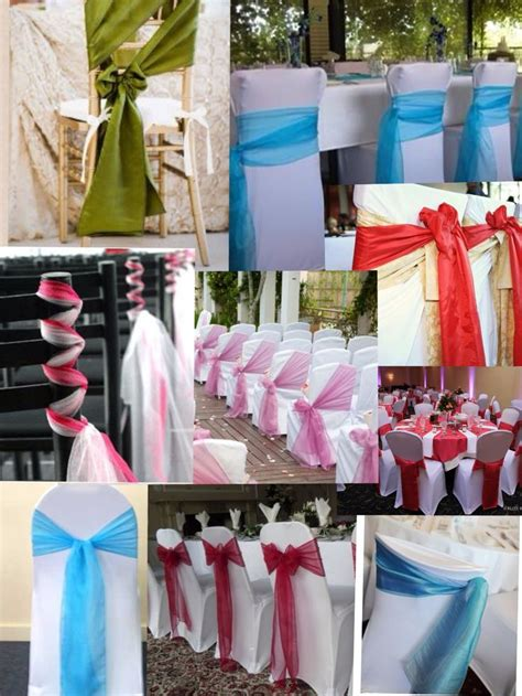 Chair Sashes For Weddings by 79 Best Images About Wedding Chair Sash On