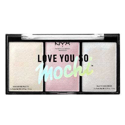 Nyx You So Mochi you so mochi highlighting palette nyx professional