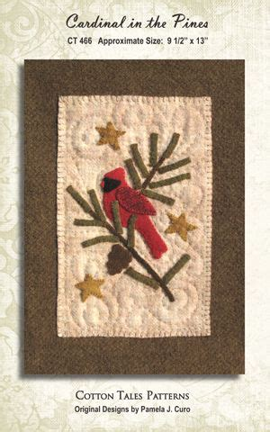 trees felt applique and the o jays on cardinal in pine tree wool applique needlefelting wool
