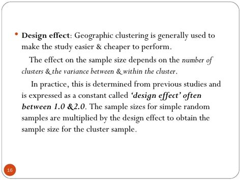 design effect and effective sle size sle size