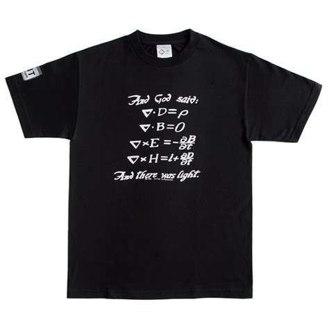 S A S Tshirt maxwell s equations t shirt mit museum store