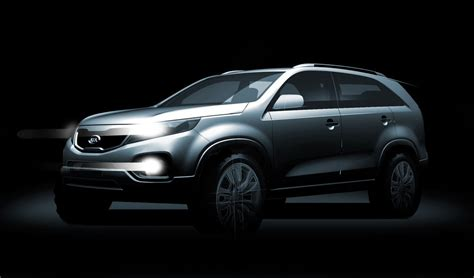 Second Kia Sorento 2010 Kia Sorento Second Teaser Released Autoevolution