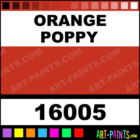 orange poppy window color stained glass and window paints inks and stains 16005 orange