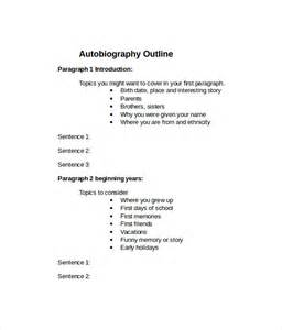 Template For Autobiography by Sle Autobiography 10 Documents In Pdf Word